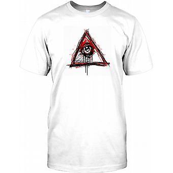 New World Order Illuminati - All Seeing Eye Kinder T Shirt