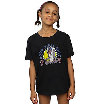 Disney Girls The Lion King Rafiki Good Vibes Only T-Shirt