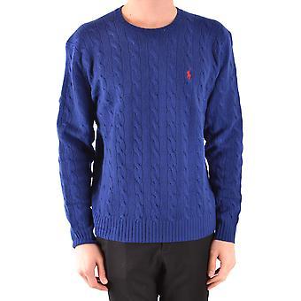 Ralph Lauren blå uld Sweater