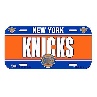 Matrícula de fanáticos de la NBA - Knicks Nueva York
