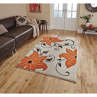 Verona OC15 Beige Terracotta  Rectangle Rugs Modern Rugs