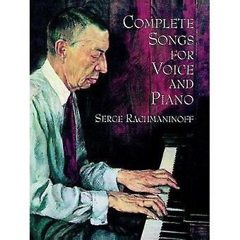 Serge Rachmaninoff - Complete Songs for Voice and Piano by Sergei Rach