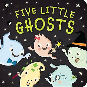Five Little Ghosts by Patricia Hegarty - Julia Woolf - 9781589255876