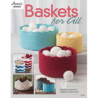 Baskets for All - 14 Fabulous Projects to Brighten Up Any Room by Anni