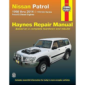 Nissan Patrol Automotive Repair Manual - 1998-2014 - 9781620921142 Book