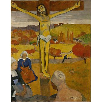 The Yellow Christ,Paul Gauguin,50x40cm