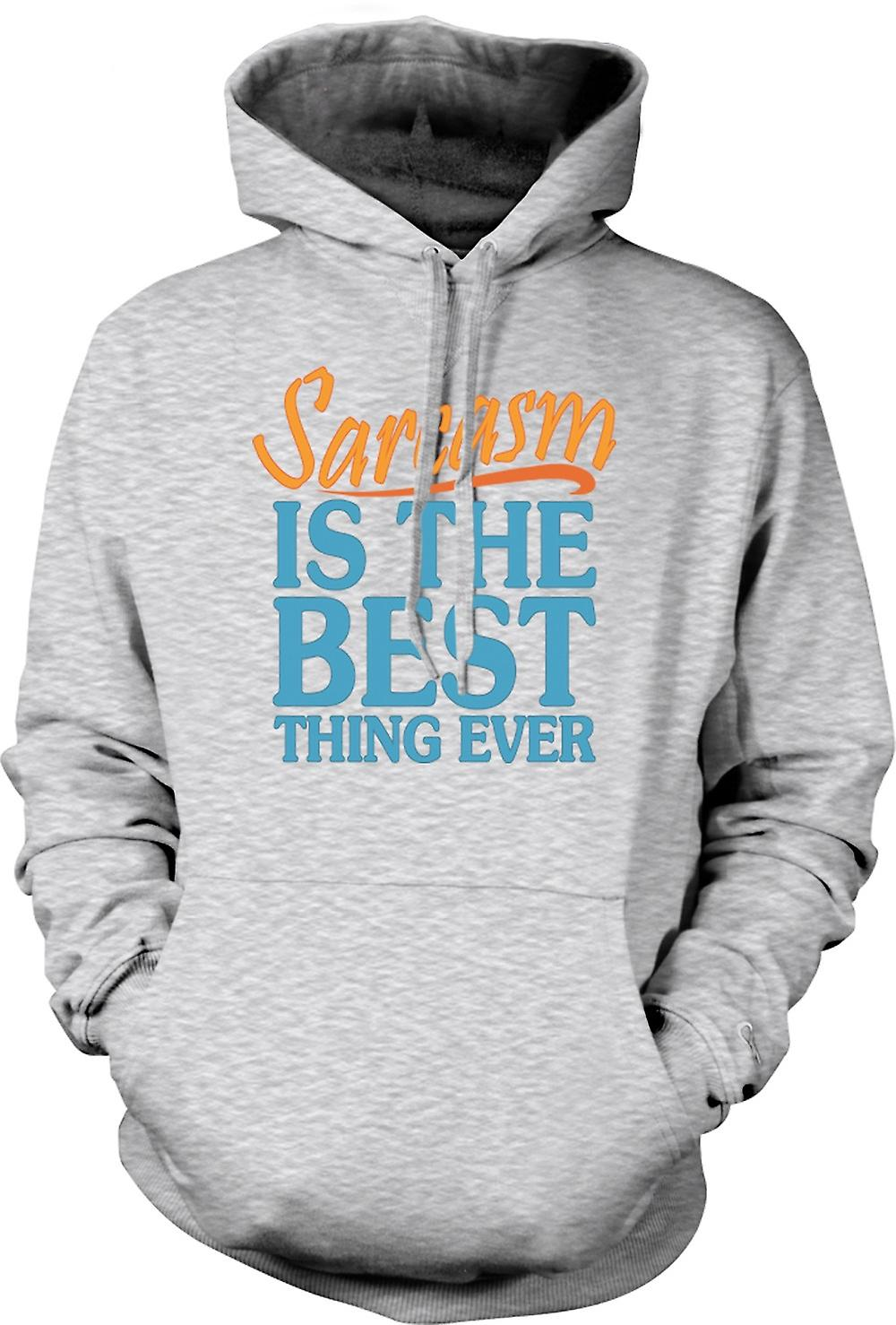 Mens Hoodie - Sarcasm Is The Best Thing Ever - Funny