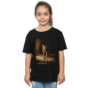 Disney Girls The Lion King Movie Simba Poster T-Shirt