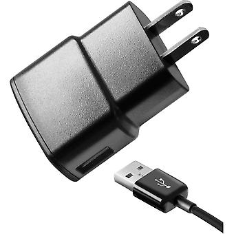 Samsung Travel Charger with Detachable MicroUSB Cable for Illusion SCHI110