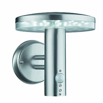 Led Outdoor Wall Light Stainless Steel With Motion Sensor Ip44