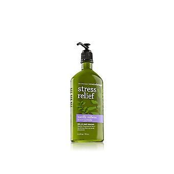 Bath & Body Works Stress Relief Vanilla Verbena Body Lotion 6.5 oz / 192 ml