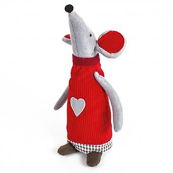 Heaven Sends Fabric Standing Mouse