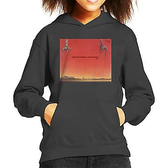 A.P.O.H Salvador Dali Fear Of Perfection Quote Kid's Hooded Sweatshirt