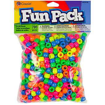 Pony Bead Mix Neon Ccmix 34138