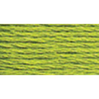 Dmc Six Strand Embroidery Cotton 100 Gram Cone Parrot Green Light 5214 907
