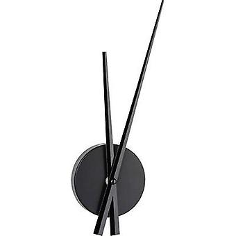 Quartz Wall clock TFA 60.3036.01 96 mm x 310 mm x 33 mm Black