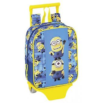 Safta Nursery Backpack With Wheels Minions (Kinder , Schulbedarf , Rucksäcke , Pflege)