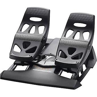 Brake pedal pad Thrustmaster TFRP T.Flight Rudder Pedals USB, RJ12 PC, PlayStation® 4 Black