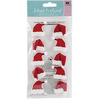Jolee's Boutique Dimensional Stickers-Santa Hats JBLG1302