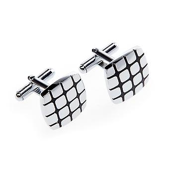 Frédéric Thomass cuff links square strips