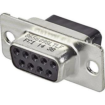 D-SUB receptacles 180 ° Number of pins: 9 FCI D-SUB 1 pc(s)