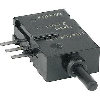 Pushbutton 60 V DC/AC 0.5 A 1 x On/(On) Mentor 1840.6131 momentary 1 pc(s)