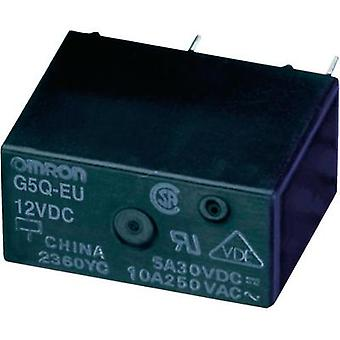 PCB relays 5 Vdc 5 A 1 change-over Omron G5Q-1-EU 5DC 1 pc(s)