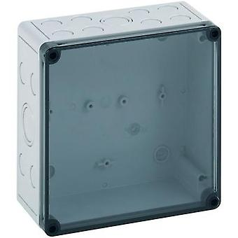 Build-in casing 110 x 110 x 90 Polycarbonate (PC), Polystyrene (EPS) Light grey (RAL 7035) Spelsberg PS 1111-9-tm 1 pc(