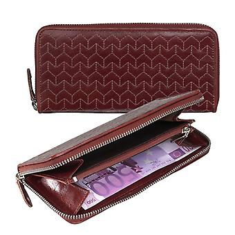 Dr Amsterdam ladies wallet Pompia Chestnut