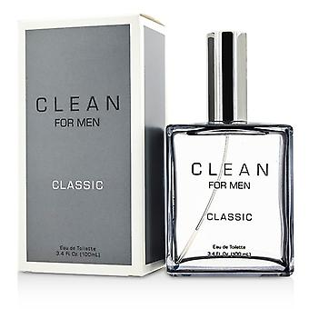 Clean For Men Classic Eau De Toilette Spray 100ml/3.4oz