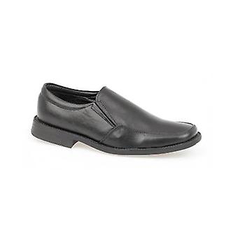 Amblers Boys Elton Shoes Leather PU Slip On Fastening Casual Footwear Boots