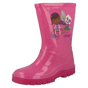 Girls Infant Disney Doc Mcstuffins Wellingtons