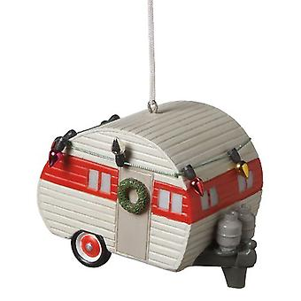 Pyntet til jul ferie Teardrop Camper Trailer Ornament