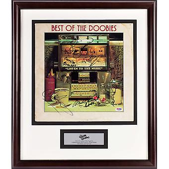 Doobie Brothers - Best of Album firmato Doobies LP - PSA/DNA