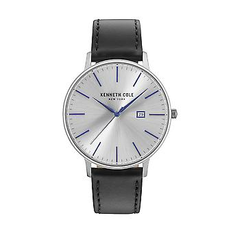 Kenneth Cole New York Herren Uhr Armbanduhr Leder KC15059006