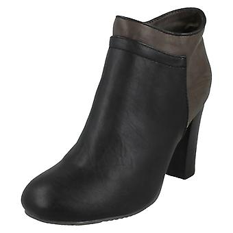 Ladies Coco High Heel Ankle Boots
