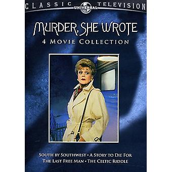 Murder She Wrote - Murder, She Wrote: 4 Movie Collection [2 Discs] [DVD] USA import