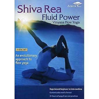 Shiva Rea - Fluid Power-Vinyasa Flow Yoga [DVD] USA import