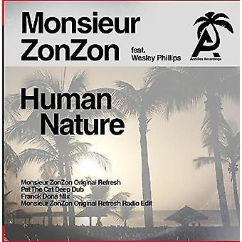 Monsieur Zonzon - menneskelige natur [CD] USA import