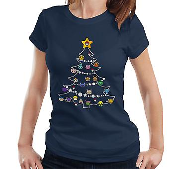 Pokemon Bulbs Christmas Tree Women's T-Shirt