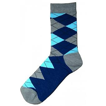 Bassin e calzini Argyle marrone - grigio/Navy/Light Blue