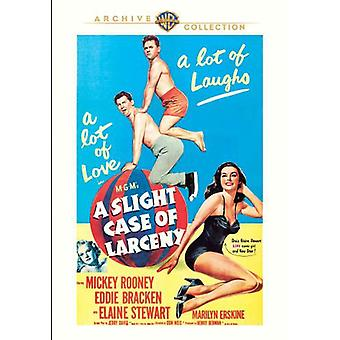 Slight Case of Larceny [DVD] USA import