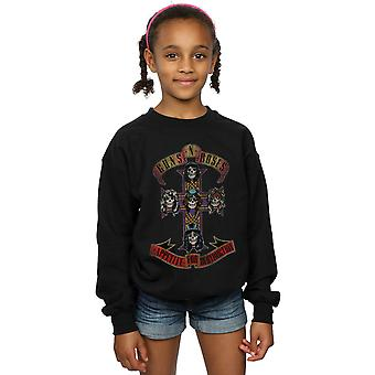 Guns N Roses Girls Appetite For Destruction Distressed Sweatshirt