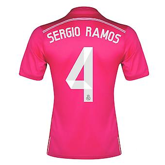 2014-15 Real Madrid Away Shirt (Sergio Ramos 4) - Kids