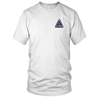NASA - SP-263A NASA Delta II Rocket With Far Ultraviolet Spectrocoptic Telescope Embroidered Patch - Mens T Shirt