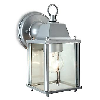 Firstlight Traditional Silver Coach Outdoor Garden Lantern