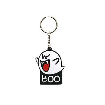 Nintendo Keyring Keychain Boo Official New Rubber