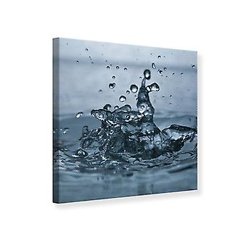 Canvas Print Water Drops