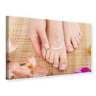Canvas Print Beautiful Feet