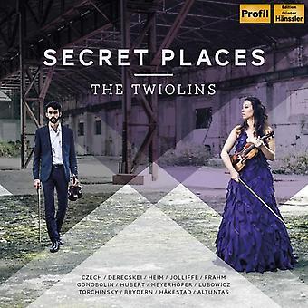 Diverse / Twionlins - hemmelige steder [CD] USA import